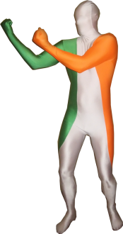 Morphsuit Irland Flagge