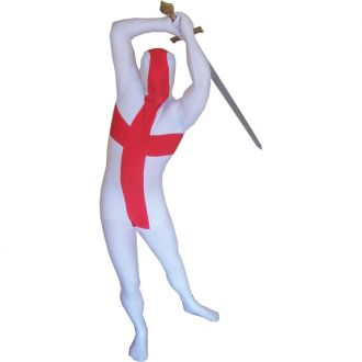Morphsuit England Flagge